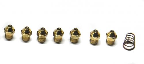 601520 Комплект инжекторов для сжиженного газа D. 0,74 Eco-3, Luna-3, Luna-3 Comfort