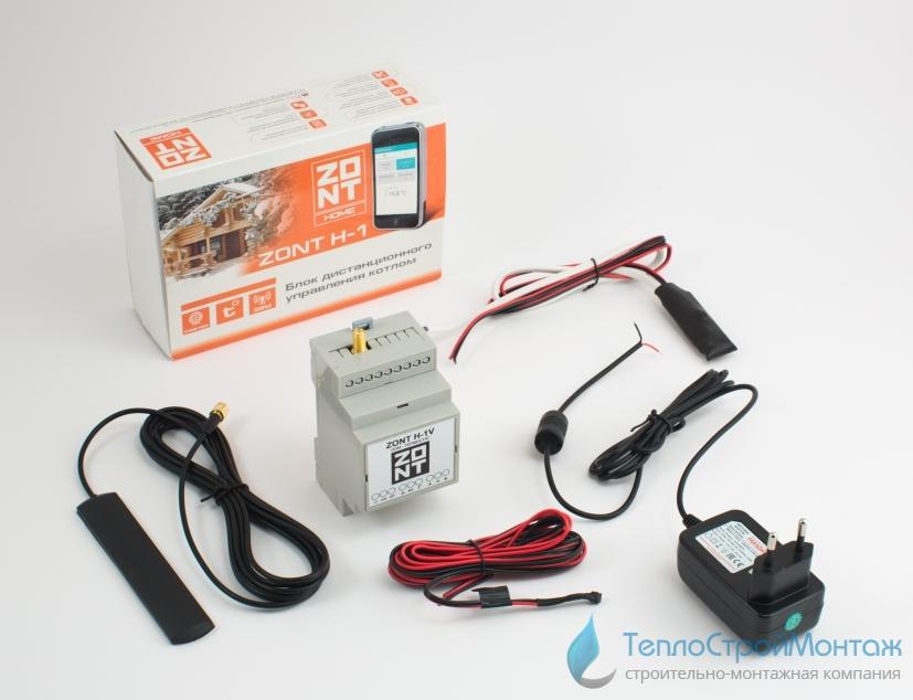 GSM-термостат для газовых котлов (модель ZONT H-1V)