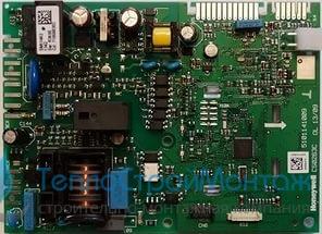 710591300 Электронная плата MAIN FOUR (старого образца). Подходит к котлам MAIN FOUR с серой панелью (разъемы в двух плоскостях)