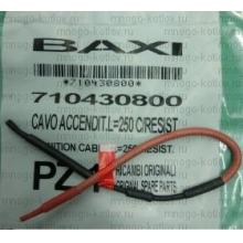 710430800 Кабель электрода зажигания ECO Four, ECO Home, ECO-4s, FOURTECH,MAIN Four